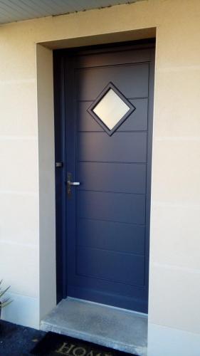 Peinture porte d'entrée